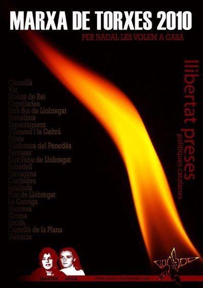Marxes de Torxes 2010 (Llibertat Preses Polítiques Catalanes)