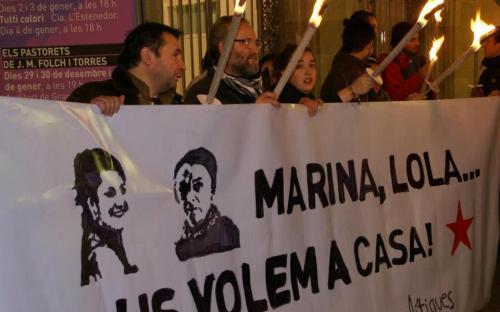 Prozess gegen Marina Bernado in Paris